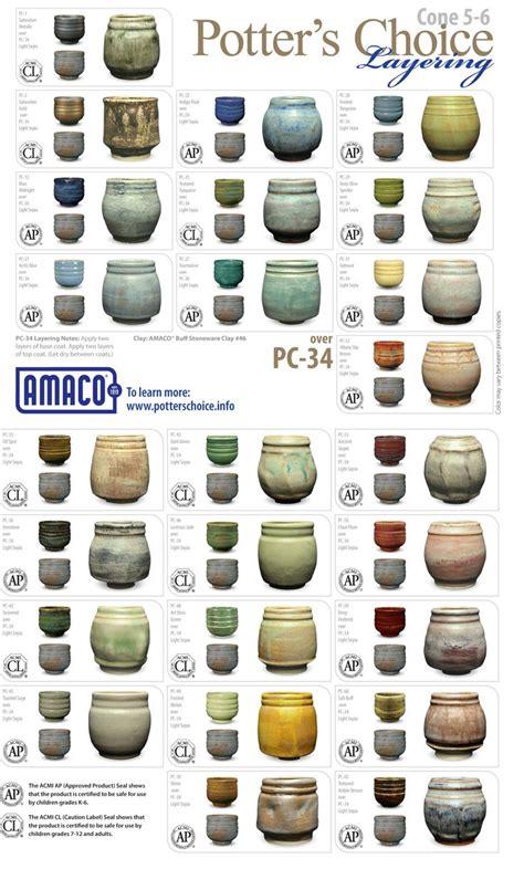 amaco ceramics 80 best images about pottery glaze ideas on