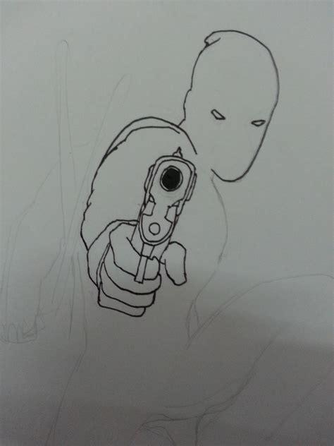 mi dibujo de deadpool paso  paso rlt taringa
