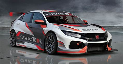 honda civic type  tcr revealed  geneva show