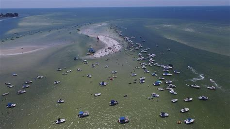 Boat R Johns Pass by On The Pass Big Pass Sand Bar 23 Aug 2015
