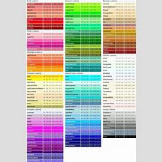 Pin By Erin Kowalewski On Balance  Rgb Color Codes, Color