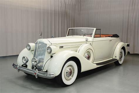 1937 Packard Twelve Victoria Convertible Victoria - Hyman ...