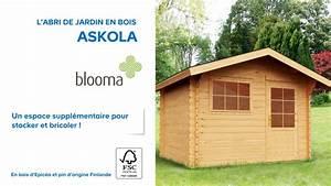 Cabanon De Jardin Castorama : abri de jardin en bois askola blooma 610707 castorama ~ Dailycaller-alerts.com Idées de Décoration