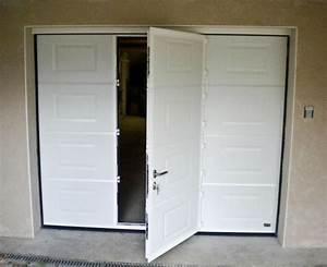 Porte de garage sectionnelle avec porte fenetre pvc leroy for Porte de garage sectionnelle avec porte entree pvc leroy merlin