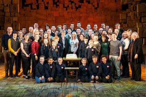 celebrating  performances matilda  musical london