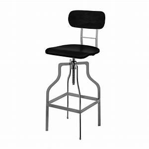 Chaise De Bar Metal : chaise de bar vintage bois koya design ~ Teatrodelosmanantiales.com Idées de Décoration