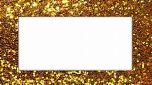 My Gold Glitter Frame | MyFolio