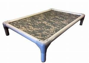 kuranda outdoor dog bed almond pvc frame cordura With cordura dog bed