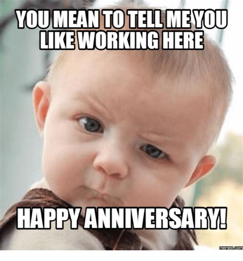 Anniversary Meme - funny work anniversary pictures dogs cuteness daily quotes about love