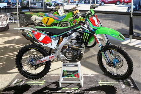 racing motocross bikes kawasaki kx 450 team monster energy kawasaki ryan