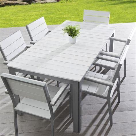 soldes salon de jardin leclerc 11 table aluminium