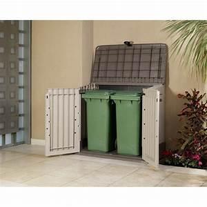 Cache Poubelle Brico Depot : caracas coffre de rangement en r sine 800 l achat ~ Dailycaller-alerts.com Idées de Décoration
