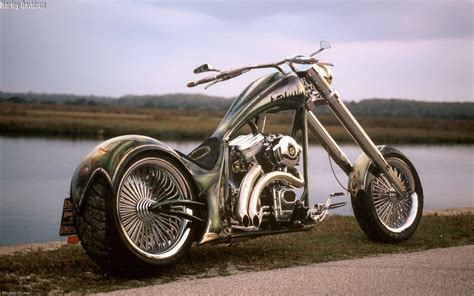 Cool-harley-davidson-chopper-hd- Wallpaper