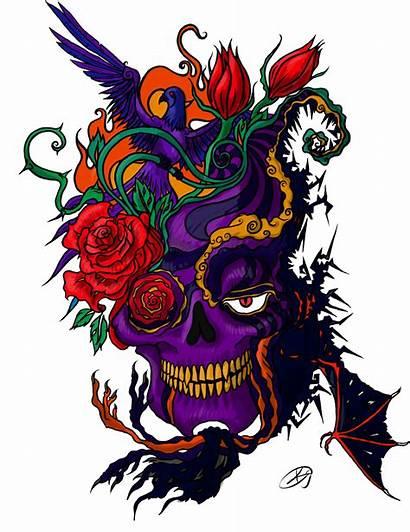 Tattoo Skull Picsart Transparent Tattoos Designs Tato