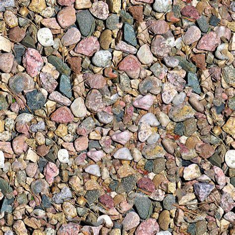ghiaia texture rocce e ghiaia seamless texture piastrelle foto stock