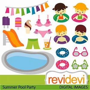 Swim Party Clipart - Clipart Suggest