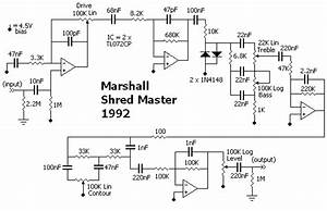Marshall Shredmaster Which Schematic Is Correct