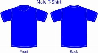 Shirt Template Clipart Clip Vector Clker Cliparts