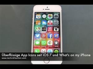 Überflüssige App Icons seit iOS 7 und What's on my iPhone ...