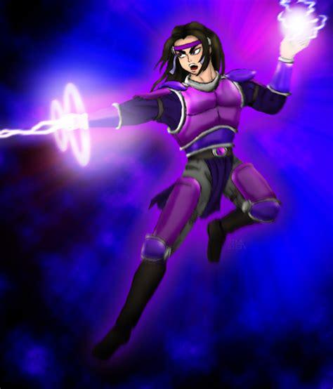 lightning mage version by glitchgirl on