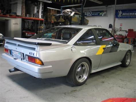 D Plate Opel Manta Gte Coupe 1987 For Sale