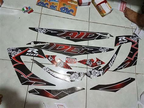 Honda Wave 100 Decals