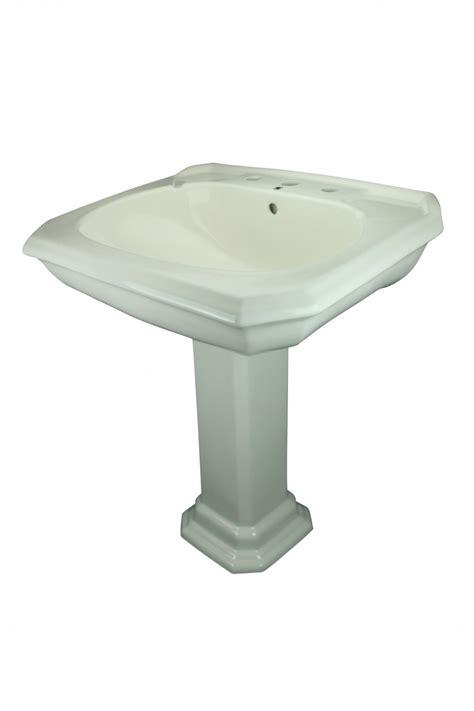 bone colored bathroom sinks bathroom pedestal sink bone china 8 quot widespread kingsway