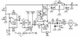 Esr Meter  Equivalent Series Resistance Meter   U2013 Electronic Circuit Diagram