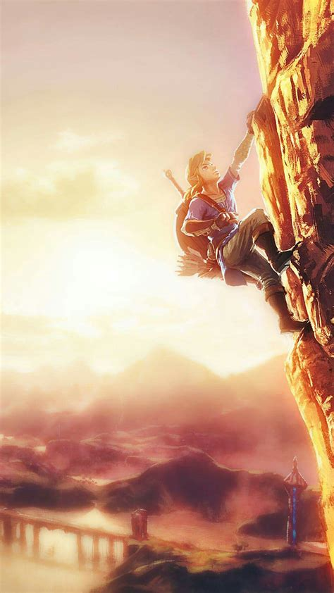 legend  zelda breath   wild iphone wallpapers