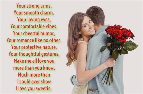 Short Love Poems for Him Quotes