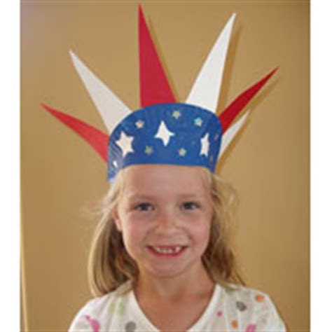 4th of july preschool kindergarten and daycare crafts 324 | c 4thofjulycrown large