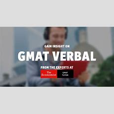 Gmat Verbal What To Expect