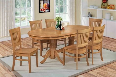 pc oval dinette kitchen dining room set  table