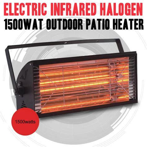 outdoor infrared halogen electric heater  buy strip