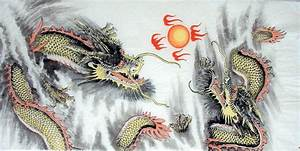 Painting of Dragon in Chinese Mythology | Chinese Painting ...
