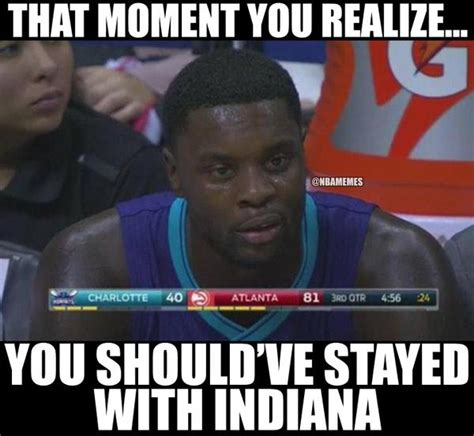 Pacers Meme - most disappointing player lance stephenson why we should have seen this coming the