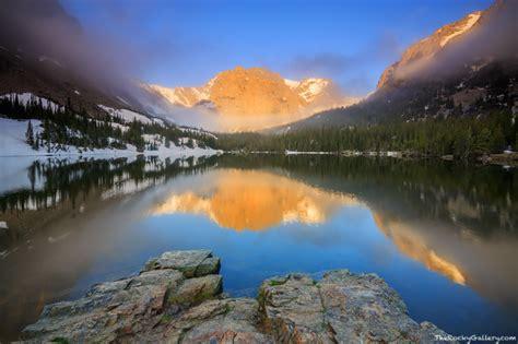 glorious loch rocky mountain national park colorado