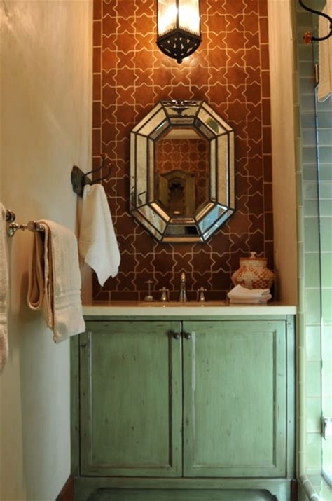 Houzz Living Rooms Traditional by Spanish Style Home Traditional Bathroom San