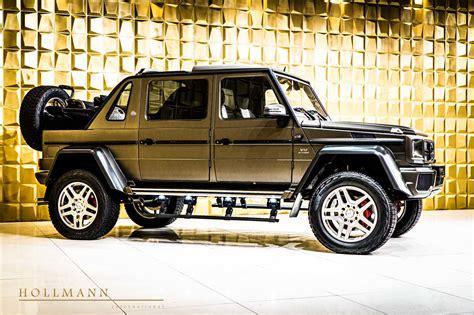 Read the review and see photos at car and driver. Maybach G 650 Landaulet V12 kost +€1 miljoen ...