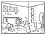 Coloring Living Around Adults Printable sketch template