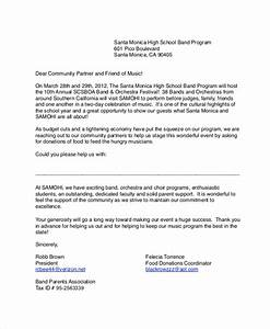 sample donation request letter 7 documents in pdf word With donation request letter template for food