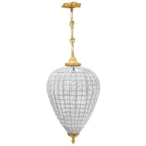 Oval Chandelier by Oval Chandelier Glass With Bronzes
