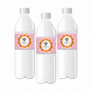 tea party personalized water bottle labels With cheap water labels