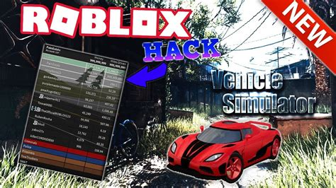 roblox vehicle simulator hack infinite money  miles