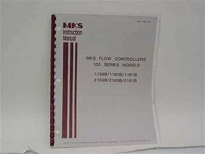 Mks 195 90 Flow Controllers 100 Series