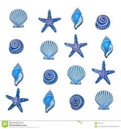 Blue Sea Shell Clip Art