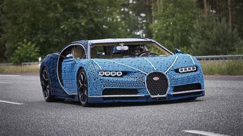 This Insane Lifesize Lego Technic Bugatti Chiron Is Drivable