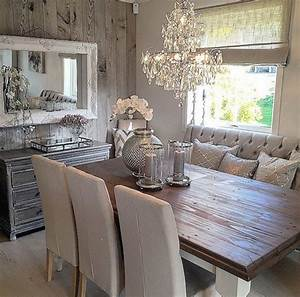 Rustic glam dining space | Cool Home Decor; Inside & Out ...