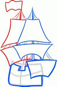 schiff zeichnen lernen schritt fuer schritt tutorial