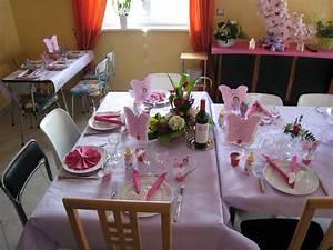 Decoration Pour Bapteme Fille : d co de table bapt me c c un peu plus en d tail estel touch ~ Mglfilm.com Idées de Décoration